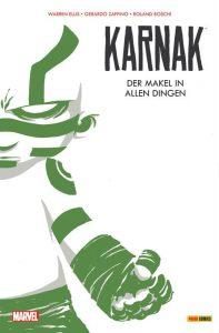 KARNAK VARIANT COVER | Karnak, der Kampfmönch aus dem außergewöhnlichen Volk der Inhuman | Panini-Verlag