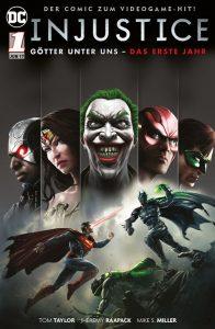 DC-Comic: INJUSTICE: GÖTTER UNTER UNS - DAS ERSTE JAHR - BAND 1 (VON 2) | Panini Verlag