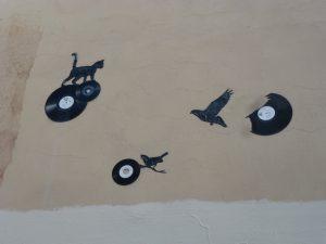 KESA | Vogeljagd in Lyon - Vinyl auf Leinwand