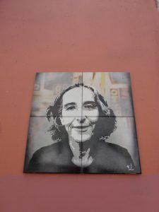 Kachel, Streetart in Lissabon