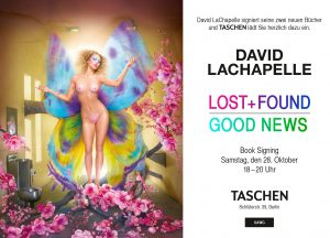 Signierstunde in Berlin am 28.10.2017 mit David LaChapelle