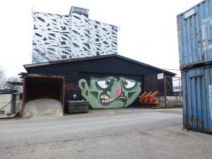 Mural Harbor in Linz, Österreich - erste Anlaufstelle für Graffiti und Streetart