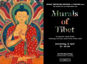 Thomas Laird. Murals of Tibet Thomas Laird, Robert Thurman, Heather Stoddard, Jakob Winkler, Shigeru Ban Hardcover signiert vom Dalai-Lama