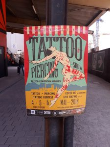 Tattoo- & Piercingshow - Tattoo Convention München