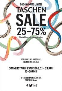 TASCHEN SALE 25 - 75% | In den Stores in Berlin, Köln und Hamburg